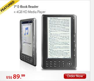 7'' E-Book Reader