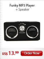 Funky MP3 Player + Speaker