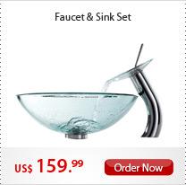 Faucet & Sink Set