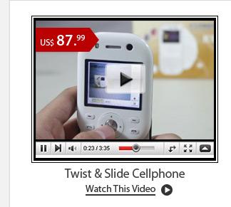 Twist & Slide Cellphone