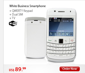 White Business Smartphone