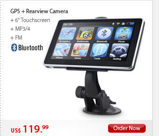 GPS + Rearview Camera