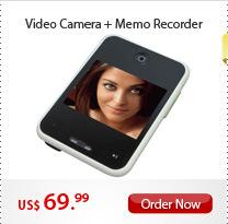 Video Camera + Memo Recorder