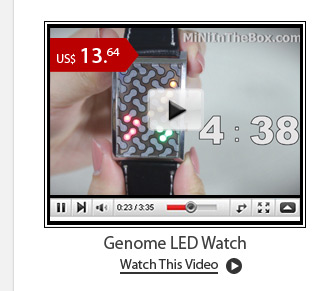 Genome LED Watch
