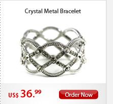 Crystal Metal Bracelet