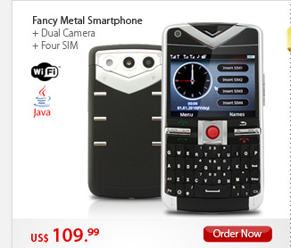 Fancy Metal Smartphone
