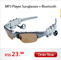 MP3 Player Sunglasses + Bluetooth