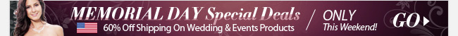 Memorial Day Special Deals