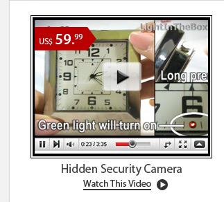 Hidden Security Camera