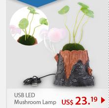 USB LED Mushroom Lamp