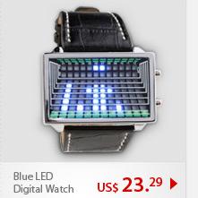 Blue LED Digital Watch