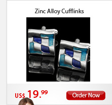 Zinc Alloy Cufflinks