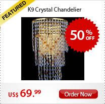 K9 Crystal Chandelier