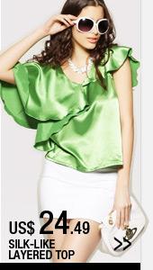 Silk-like Layered Top