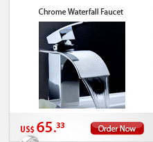 Chrome Waterfall Faucet