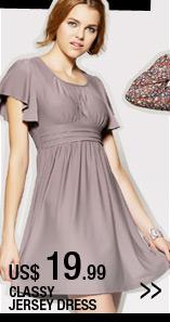 Classy Jersey Dress