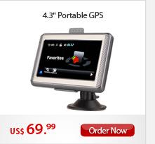"""4.3"""" Portable GPS"""