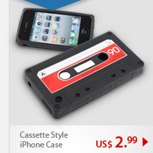 Cassette Style iPhone Case
