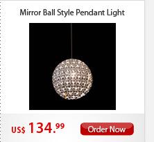 Mirror Ball Style Pendant Light