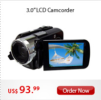 3.0'' LCD Camcorder