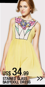 Stain Glass Babydoll Dress