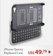 iPhone Qwerty Keyboard Case