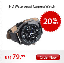 HD Waterproof Camera Watch