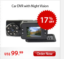 Car DVR with Night Vision