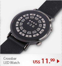 Crossbar LED Watch