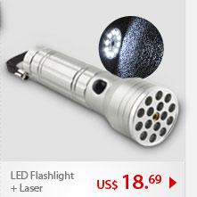 LED Flashlight + Laser