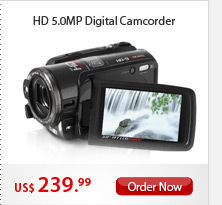 HD 5.0MP Digital Camcorder