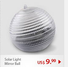 Solar Light Mirror Ball