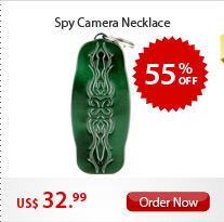 Spy Camera Necklace