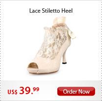 Lace Stiletto Heel