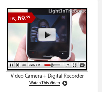 Video Camera + Digital Recorder