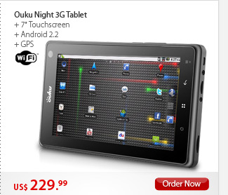 Ouku Night 3G Tablet