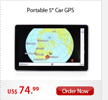 "Portable 5"" Car GPS"
