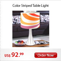 Color Striped Table Light
