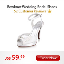 Bowknot Wedding Bridal Shoes