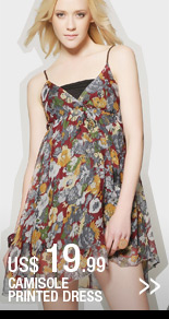 Camisole Printed Dress