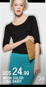 Neon Color Long Skirt