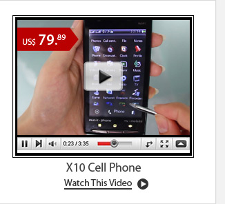 X10 Cell Phone