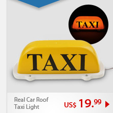 Real Car Roof Taxi Light