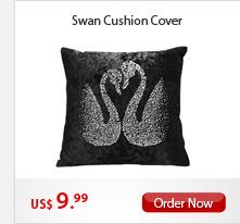 Swan Cushion Cover