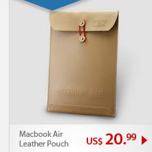 Macbook Air Leather Pouch