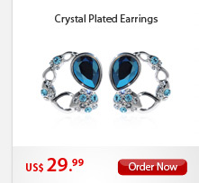 Crystal Plated Earrings