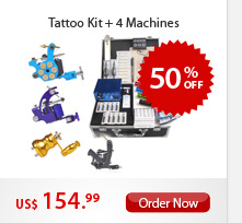 Tattoo Kits + 4 Machines
