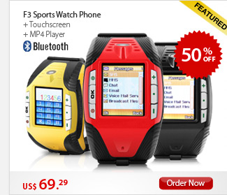 F3 Sports Watch Phone