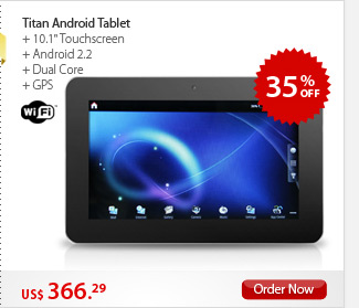 Titan Android Tablet