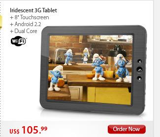 Iridescent 3G Tablet